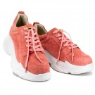 Coral chunky sneakers thumbnail
